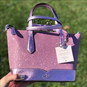 Kate Spade glitter satchel crossbody